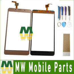 Wholesale Digitizer Tape - High Quality1PC  Lot For Leagoo M8 Pro Black Gold Color Touch Screen Digitizer Replacement Part With tools+Tape
