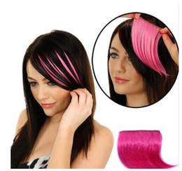 Canada Une extension de couleur invisible met en évidence une pièce de extension de cheveux non-trace qui met en valeur une pièce de cheveux frappée avec une frange oblique des cheveux des femmes, une frange oblique Offre