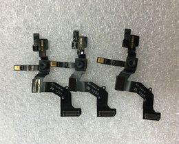 Wholesale Iphone Front Cam - Front Camera Cam Facetime Proximity Sensor Ribbon Flex Cable Replacement For iPhone 5 5G Proximity Sensor Flex Cable