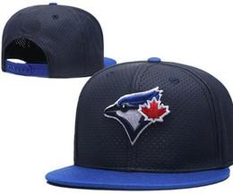 Boné toronto on-line-Preço de fábrica sunhat chapéu De Couro Jays Toronto cap pala viseira Bonés de beisebol Adjustbale mulheres strapback snap voltar Chapéus Snapback Cap Headwear