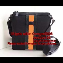 Herren Schultergurt flach MESSENGER Luxus Tasche 471454 387111 Designer Cross Body Satchel Handtasche kleine Tasche beige Canvas 295257 474137 473878 von Fabrikanten