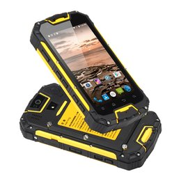 Wholesale Smartphone Android Quad Core Rugged - Snopow M5P 5.0inch waterproof rugged smartphone with walkie talkie 13.0MP rear camera MTK6735 64Bit quad core android unlocked mobile phone