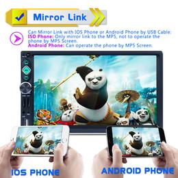 dvd tv tuner tiguan Rebajas 7 pulgadas 2 DIN Bluetooth Auto Multimedia Estéreo Coche DVD MP5 Reproductor AM / FM / RDS Soporte de radio Vínculo espejo Vista posterior Cam CMO_22S