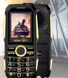 Wholesale Os Player - F999 6800MA shockproof 3.5mm earphone jack power bank flashlight SOS speed dial wireless FM radio rugged senior mobile phone
