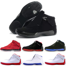 Descuento zapatos de satén online-Descuento 18 Mens Zapatillas de baloncesto Toro OG ASG Negro Blanco Rojo Bred Royal Blue Sports Sneakers entrenadores diseñador al aire libre