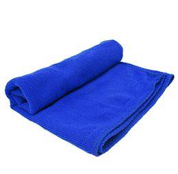 Mesa para auto on-line-30 * 70 cm azul atacado carro macio toalhas de limpeza auto acessórios pano limpo polimento motor de lavagem home table cleaner para carro universal
