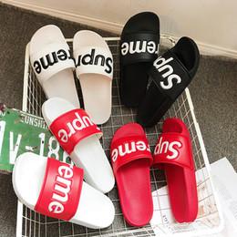 Männer Frauen Sandalen Designer Schuhe Luxus Rutsche Sommer Mode Breite Flache Rutschig Mit Dicke Sandalen Slipper Flip Flop Keine Box von Fabrikanten