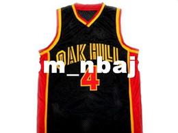 Форма рондо rajon онлайн-Оптовая Rajon Рондо #4 Oak Hill средней школы Нью-баскетбол Джерси черный сшитые пользовательские любое количество имя мужчины женщины молодежь баскетбол трикотажные изделия