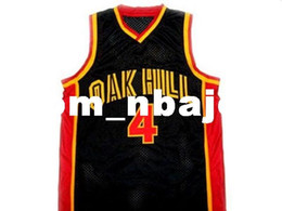 fcb4f25bca0f wholesale Rajon Rondo  4 Oak Hill High School New Basketball Jersey Black  Stitched Custom any number name MEN WOMEN YOUTH BASKETBALL JERSEYS cheap  rajon ...