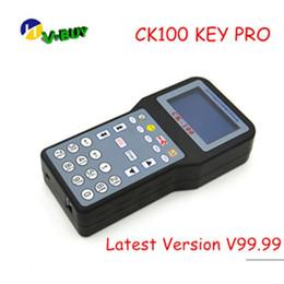 máquina de corte x6 Rebajas Discount Hottest Key Pro ck100 v99.99 Última generación de SBB Silica CK100 + Auto Key Programmer CK100 V99.99 envío rápido
