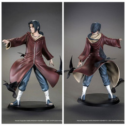 Wholesale kids paint box - No box 8inch Naruto Uchiha Itachi 1 8 Scale Painted Figure Brinquedos Anime PVC Action Figure Collectible Model Toy Doll Figuarts Gift