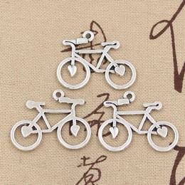 американские подвески Скидка 5pcs подвески велосипед 31 * 23 мм античный делая кулон подходят, старинные Тибетского серебра, DIY браслет ожерелье