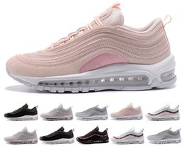 Massaggi uomini online-2018 nike air max 97 airmax Brand New Men Low air vapormax 97 Coussin Respirant Casual Chaussures Pas Cher de Massage Courir Plat Sneakers Homme 97 Sports Chaussures En Plein Air