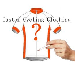 6f82a97c8b5 50 Pieces set Men Custom LOGO Road Bike Cycling Clothing Women Short  Sleeves Jerseys Bicycle Clothes Unisex Road Riding Shirt 101605Y
