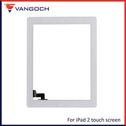 placa auo Desconto Para ipad 2 3 4 tela de toque ipad mini 1 2 3 frente substituição de vidro com botão home adesivo frete grátis