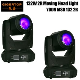 Wholesale fedex pack - Fedex TNT 2 Pack Moving Head Sharpy Beam 130w 2R YODN Stage light DMX512 Signal Control 3 pin Interfaces 16CH 20CH for Show