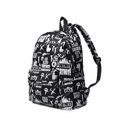 41b891f050 Fortnite Battle Royale Backpack Shoulder Bags Fortnite Teenager Students  School Bag Sports Casual Bags printed Backpacks GGA860 5pcs