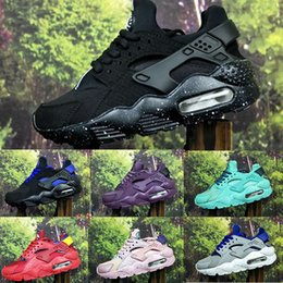 Wholesale Toddler Boys Athletic Shoes - Air Kids Huarache Run 1 Shoes boys running shoes Children huaraches outdoor toddler athletic boy & girls Infant sneaker