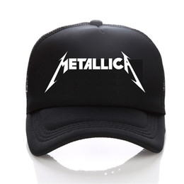 Metallica logo Baseball cap mode Hommes et femmes Hip-Hop Hat chapeau de loisirs Young sports de plein air couple soleil ? partir de fabricateur