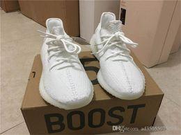 Wholesale Cheap Women Size 11 Shoes - Cheap 350 Boost v2 Zebra CP9652 Kanye West Men Women Sport Shoe Athletics 350boost v2 Sneakers Black White Color New Size 11