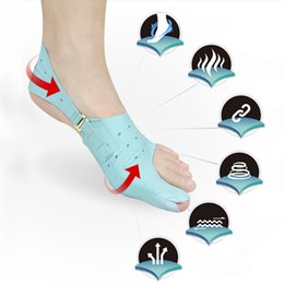 Wholesale hallux valgus gel - 1 Pcs Silicone Gel Bunion Splint Big Toe Separator Overlapping Protection Corrector Hallux Valgus Foot Massager X025
