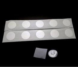 2019 tarjeta chip rfid NFC NTAG215 Etiqueta 100 unids / lote Pegatinas Tarjeta Para TagMo Dia.25mm Lable Forum Type2 Sticker