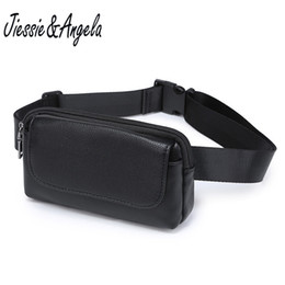 Wholesale Jiessie Angela Waist Bag For Women Small Leather Bag New Fanny Pack Belt Small Cell Phone Purse