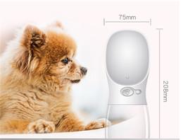 Canada Pet Dogs Bouteilles D'eau Portable Buveur Produits Doseurs Alimentaires Buveur De Plein Air De Fournitures De Voyage Bleu, Rose, Blanc 350ml Offre