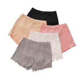 Wholesale clothing for home - girls cotton short leggings summer fashion short leggings ear side safety for girls short tights home clothing I264