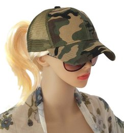 f9baeb502b1a37 DHL Camo Mesh Baseball Cap Men women adjustable Camouflage Bone Masculino Summer  Hat Men Army Cap Trucker Snapback Hip Hop Dad Hat