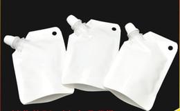50 ml beyaz plastik doypack sıvı stand up depolama kılıfı Yan Poşet ile ücretsiz kargo nereden statik iphone tedarikçiler