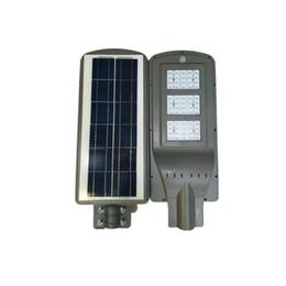 Wholesale Led Polish - LED Solar Street Lights 60W 40W 20W (Radar Sensor + Photocell Sensor ) Led Steet Lights Waterproof Outdoor Led Lamps AC 85-265V