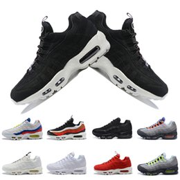 6aba94ec25 Ultra 95 OG Neon TT red Men Running Shoes Sports 95s Men Womens Triple  White Black Trainers Tennis Sneakers Running shoes Zapatos