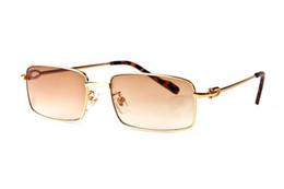 Argentina Con gafas de sol de diseñador de marca caja roja para hombres gafas de cuerno de búfalo vintage oro plata marcos completos mujeres leyendo gafas cheap designer brand glasses read Suministro