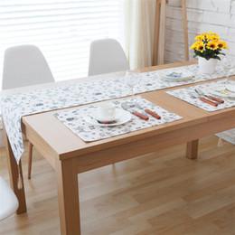 Coreano tabela decorações on-line-Gato dos desenhos animados coreano corredor da tabela decorações do partido decoração de mesa de jantar corredores camino de mesa manto vintage