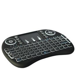 teclado de estilo livre Desconto 2.4g sem fio original rii i8 mini teclado com touchpad mouse teclados de mão para orange pi, pc, android tv, raspberry pi 3