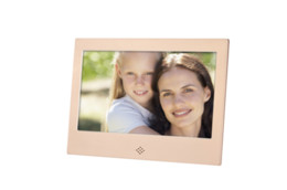Wholesale Aluminum Clocks - 7 inch LED Digital Photo Frame 1280 * 800 Resolution Support 1080P Aluminum Alloy w Remote Control Christmas Birthday Gift