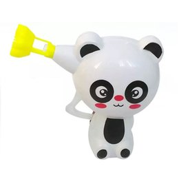 Wholesale Toy Bubble Guns - Kids Cartoon Animal Model Soap Bubble Gun Blower Machine Outdoor Toy Gift