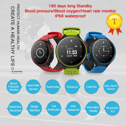 Wholesale Play Rides - 2017 new arrival Blood Pressure Blood Oxygen Dynimac Heart Rate monitor Running Swimming Riding Playing sport mode smartwatch