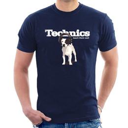 Canada TECHNICS - Apprenez-leur à bien T-SHIRT Écouteurs pour chien DJ Hommes Femmes et Enfants T-shirt S38 T-shirt Design pour hommes Blanc à manches courtes Personnalisé 3XL Team T Offre