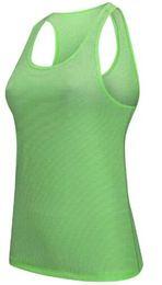 Argentina Envío gratis 2018 NUEVO Hot Sexy Fitness Tight Sport Yoga Camisa de secado rápido sin mangas Ropa deportiva Blusas Chaleco de entrenamiento entrenamiento Crop Top femenino Suministro