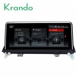Krando Android 9.0 10.25 '' dvd del coche de navegación de audio gps para BMW X5 E70 / X6 E71 2010-2013 sistema multimedia reproductor con bluetooth desde fabricantes