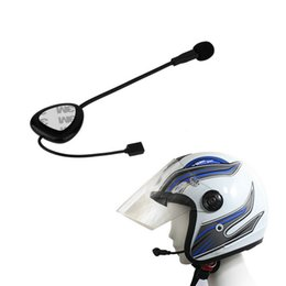 Casco senza fili del motociclo del bluetooth online-Freeshipping Wireless Hands Free Bluetooth Moto Moto Bike Helmet 100M Headset Cuffie Design impermeabile Supporto GPS