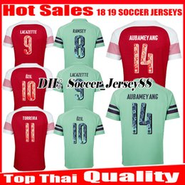 2018 números de los jerseys del balompié 2018 2019 NÚMEROS ESPECIALES Soccer Jersey LACAZETTE Ozil XHAKA AUBAMEYANG ArsenalLIS IWOBI TORREIRA MKHITARYAN Ramesy jerseys Camisetas de fútbol rebajas números de los jerseys del balompié