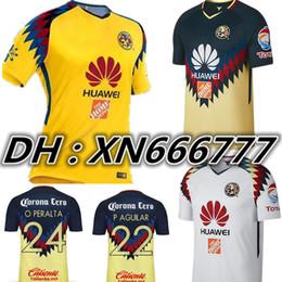 Wholesale Men America - 2017 2018 america 3rd soccer jerseys 17 18 PERALTA DOMINGUEZ SAMBUEZA Camiseta MATHEUS URIBE LAINEZ QUINTERO football shirt