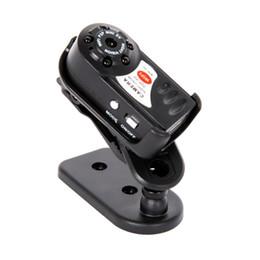 Wholesale Smallest Wireless Mini Camera - Q7 Mini Camera Wifi Infrared Night Vision Small Camera DV DVR Wireless IP Cam Video Camcorder Recorder Support TF Card 1pc lot