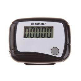 Laufschritt kalorien-schrittzähler online-Mini Tragbare Schrittzähler Run Walking Schrittzähler Entfernung Kalorien Laufschritt Schrittzähler Walking Distance Counter Hohe Qualität