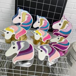 Sacs à bandoulière Licorne Fashion pour dame Kids Animal petit cheval Sac à bandoulière petit sac à main d'embrayage ? partir de fabricateur