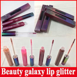 Wholesale Galaxy Cosmic - Beauty Galaxy 4 colors Lip Gloss Liquid Lipstick Gal On The Moon Spacesuit Plutonic Relationship Astro_Naughty COSMIC GLOSS