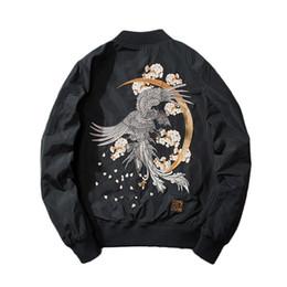 2019 koreanische stil männer s kleidung Mens Designer Jacket 2018 neue Männer männliche Dämon koreanische Version der Jacke Jugend chinesischen Stil Stickerei Baseball Kleidung Flut rabatt koreanische stil männer s kleidung